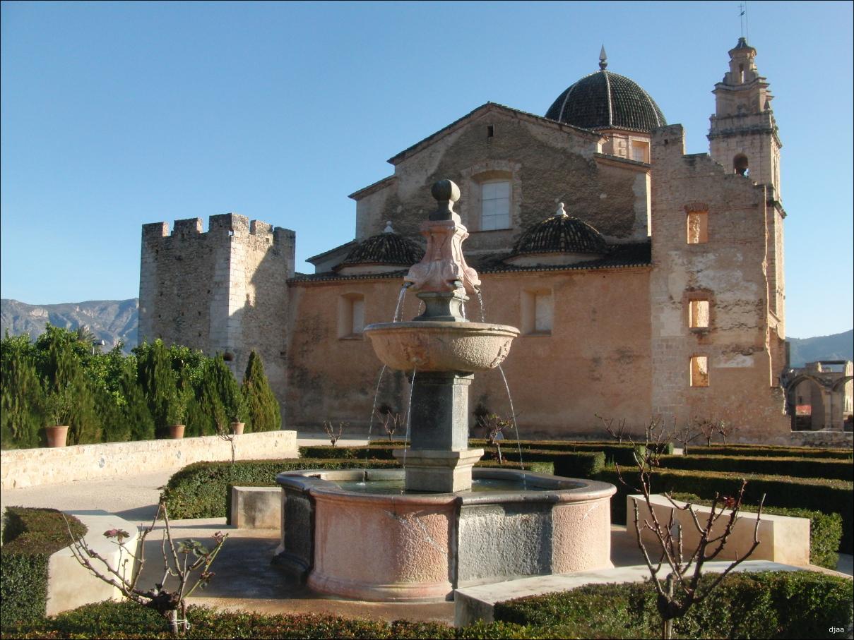 Real Monasterio De Santa Maria De La Valldigna En Simat De Valldigna