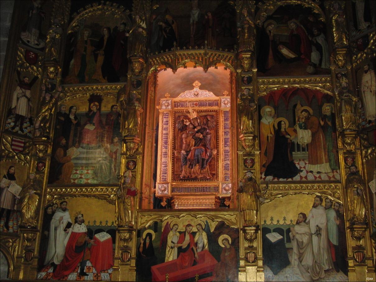 Virgen del Puche (Puig) / Santos Pedro Nolasco y  Ramón Nonato (R.M.SXVII-P98) (AM) Monasterioelpuigvirgen01