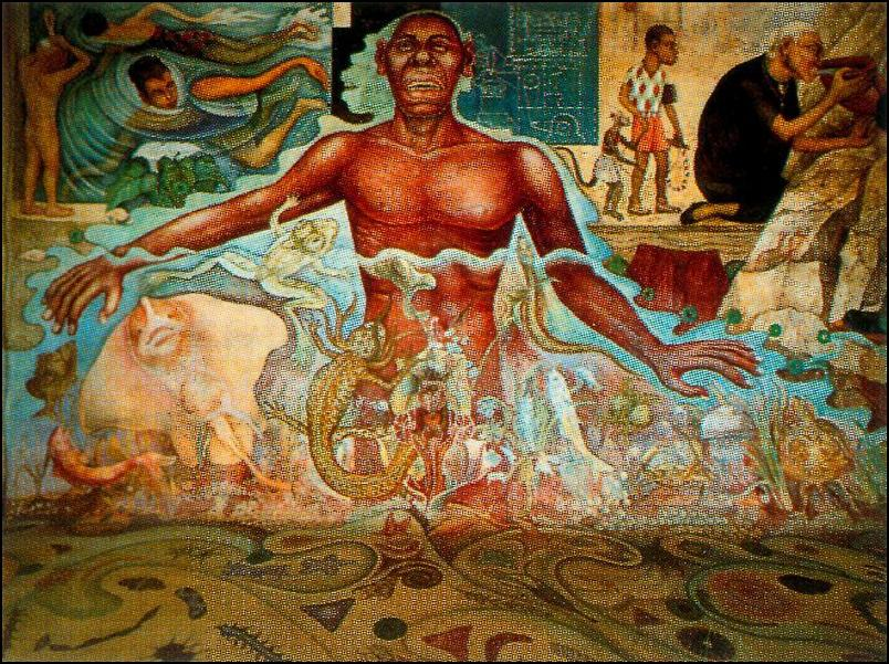 Diego rivera for Diego rivera creation mural