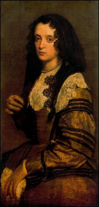 Retrato de gran mujer rusa