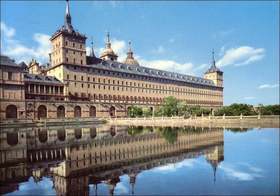 Real Monasterio de San Lorenzo El Escorial. Estanque de la huerta