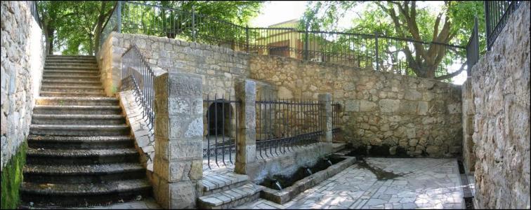 Basilica de san juan bautista en ba os de cerrato - Fuente de los banos montanejos ...