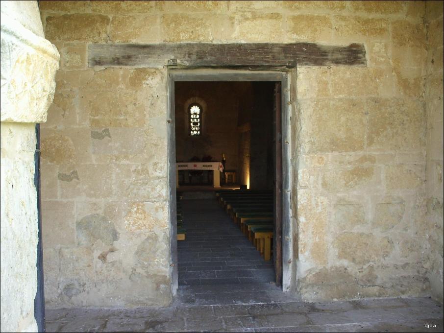 Basilica de san juan bautista en baos de cerrato - Dintel de madera ...