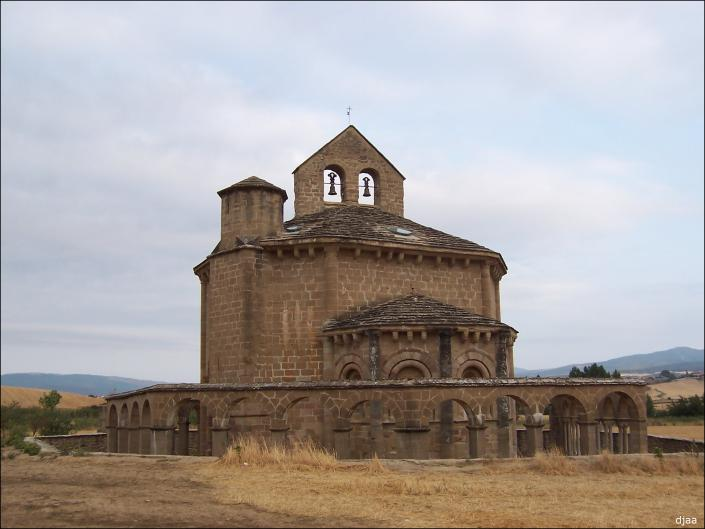 SANTA MARÍA DE EUNATE (Navarra) Santamariadeeunateiglesia01