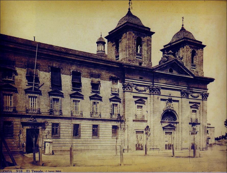 Resultado de imagen de El muro del convento del Temple, valencia