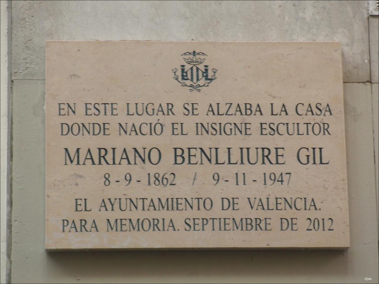 Lapidas conmemorativas calles de valencia for De donde sacan el marmol