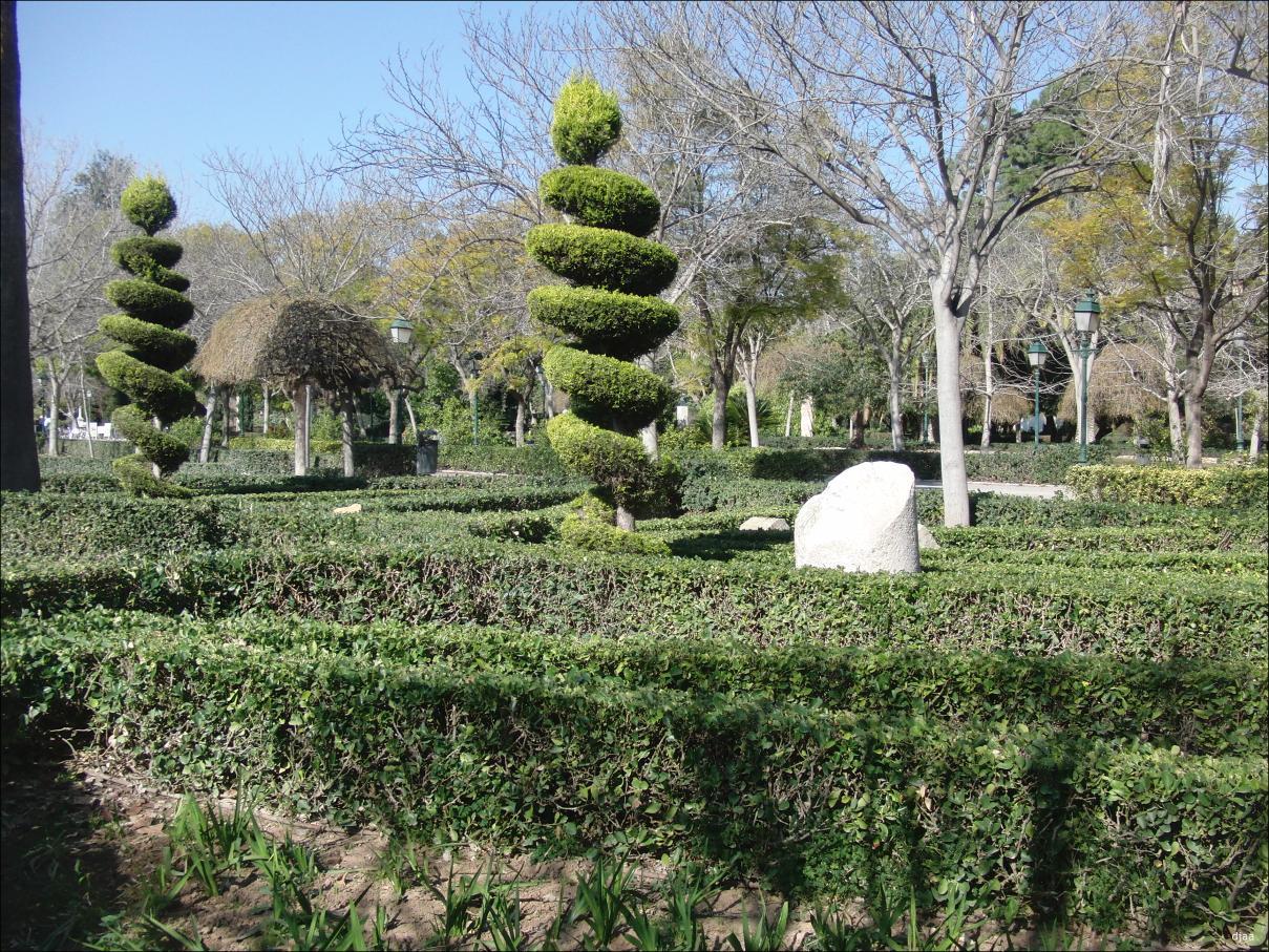 Jardines de los viveros o del real for Viveros de jardin