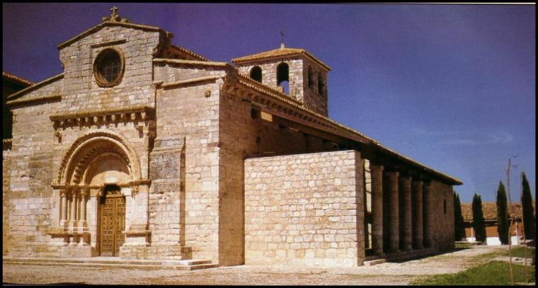 Iglesia de santa maria en wamba for Arquitectura mozarabe